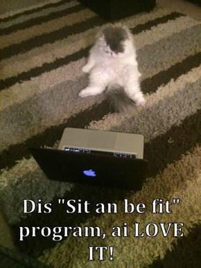 """Dis """"Sit an be fit"""" program, ai LOVE IT!"""