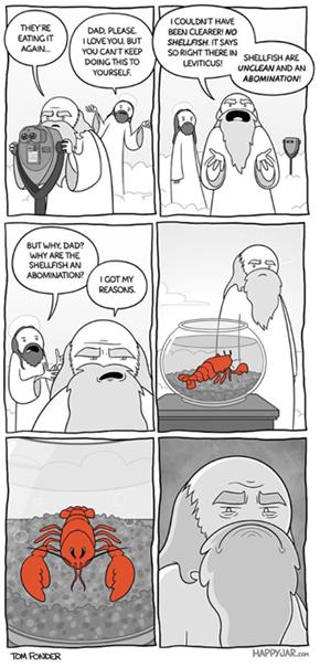 A Shellfish God