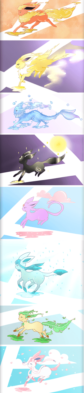 Lovely Eeveelutions