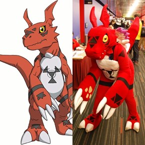 The Best In Digimon Cosplay
