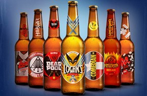 Beer Designs For Your Not So Nice Super-Heroes