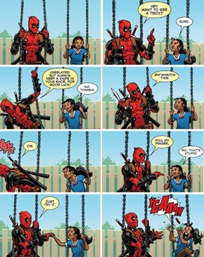 Deadpool Has The Best Party Tricks