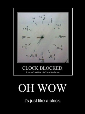 Just Read it Like a Clock