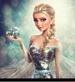 A Very Lifelike Elsa