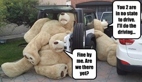 Someone spiked the Punch at the Teddy Bear's Picnic....