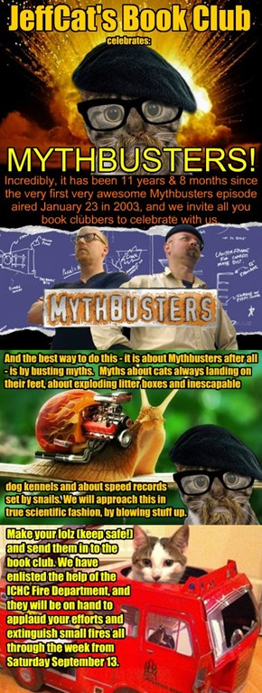 JeffCat's Book Club celebrates: Mythbusters