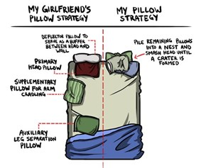 What's Your Pillow Strategy?