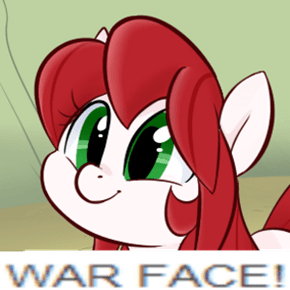 Let me see your war face!
