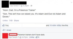 Coming Out as a Pokémon Trainer on Facebook