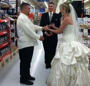 Married at Walmart