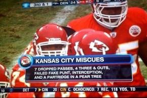 11 Chiefs a-Losing