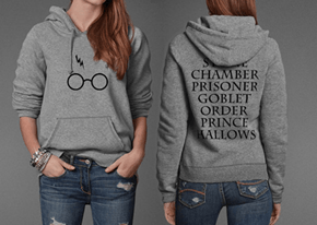 Harry Potter and the Super Comfy Sweater