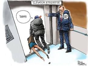 The Most Poignant Depiction of The NFL's Conduct With The Ray Rice Incident