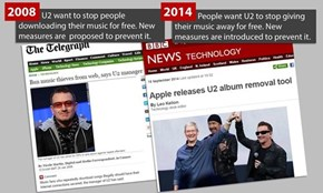 We've Come a Long Way With Free Music and U2