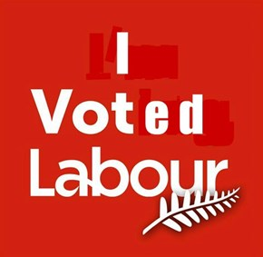 I Voted Labour NZ
