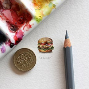 Your Eyes Aren't Deceiving You, These Paintings Are Tiny