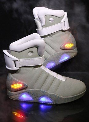 Replicas of the Back to the Future Shoes Are For Sale. TIME TO FREAK OUT.