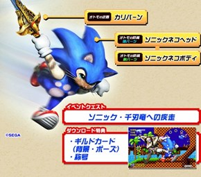 Sonic the Hedgehog x Monster Hunter 4G