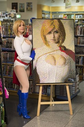 Not Every Cosplayer Gets a LEGO Portrait