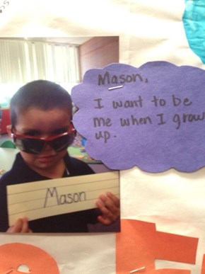 Mason Knows What Life's All About