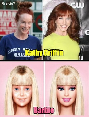 A couple of celebrities whom should wear makeup...