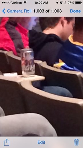 Nothing Goes Better With a Lecture Than Beer