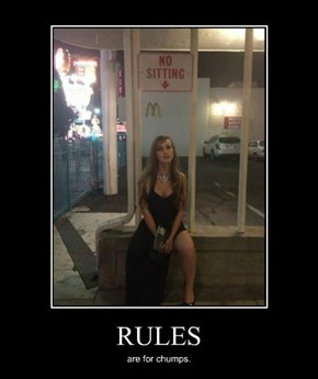 She Don't Need No Rules