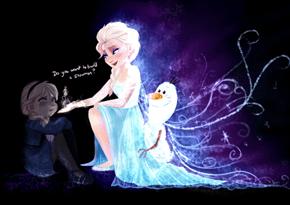 Do You Wanna Build a Snowman, Little Elsa?