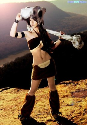 Cubone Gets a Great Cosplay