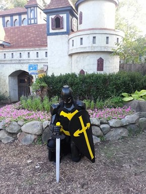 The Dark Knight Goes to a Renaissance Fair