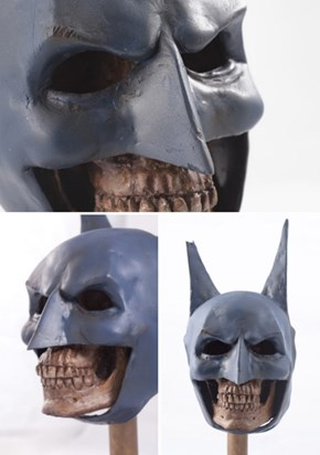 Statue Imagines Defeated Bruce Wayne Is Some Villain's Trophy