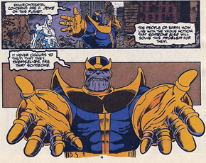 Thanos: The Eco Warrior