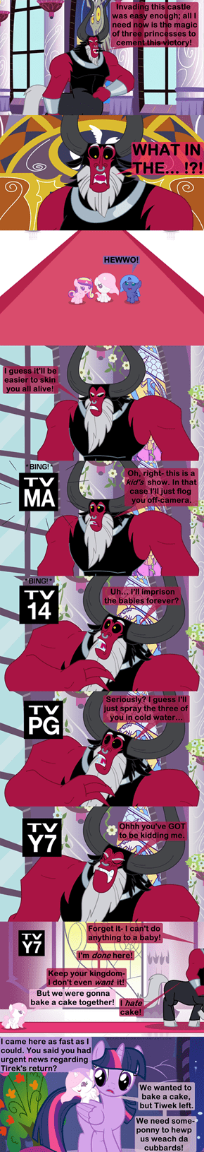 It's Hard to Be a Villain in Equestria