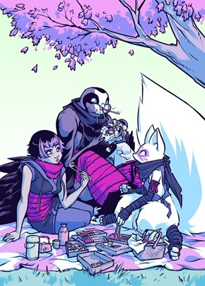 Girls of TMNT: Karai, Alopex, and Koya