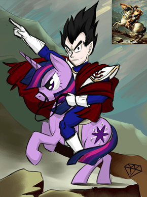 Vegeta's Majestic Steed