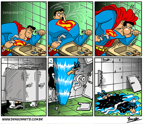 Batman vs Superman: Dawn of Pranks