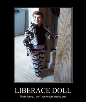 LIBERACE DOLL