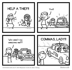 Grammar Police Are Hard to Please
