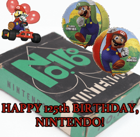 Nintendo Turns 125 Today!