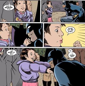 Batman Is a Friend To All Children