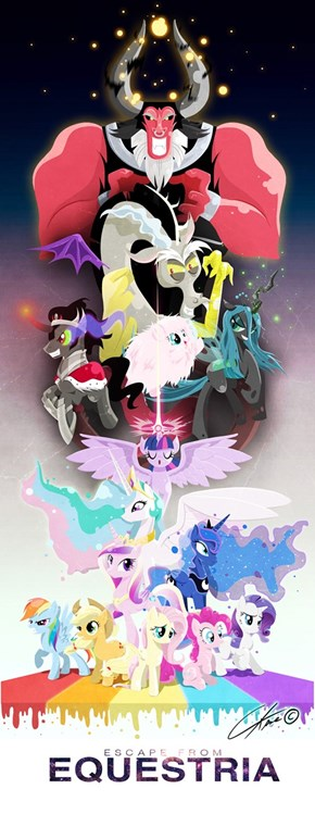 Awesome MLP Poster With All The Characters