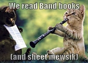Kittehs speek owt abowt Banned 'n' Challenged Bookz Week