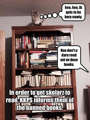 KKPS subversively deals with banned book week