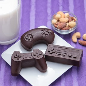 Use These Cool Chocolate Molds and MASH SOME BUTTONS