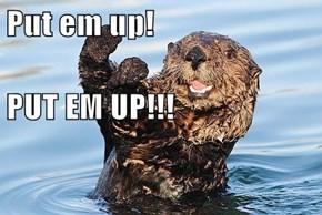 Put em up! PUT EM UP!!!