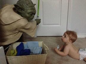 Baby's First Yoda
