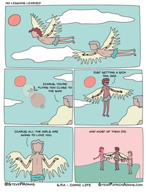 The Story of Icarus