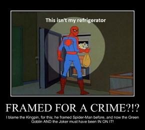 FRAMED FOR A CRIME?!?