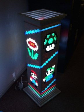 Power Up and Check Out This LEGO Lamp!