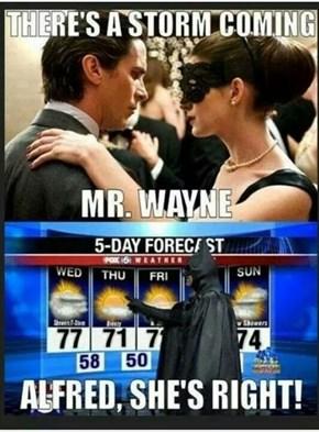 Bruce Wayne: Meteorologist